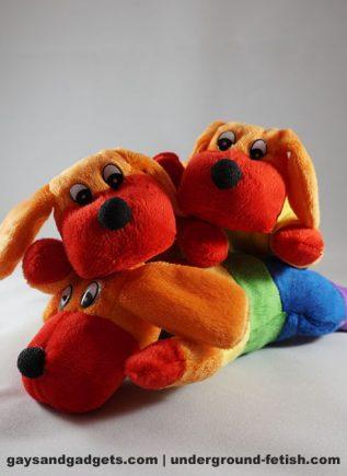 Sparkie the Rainbow Dog