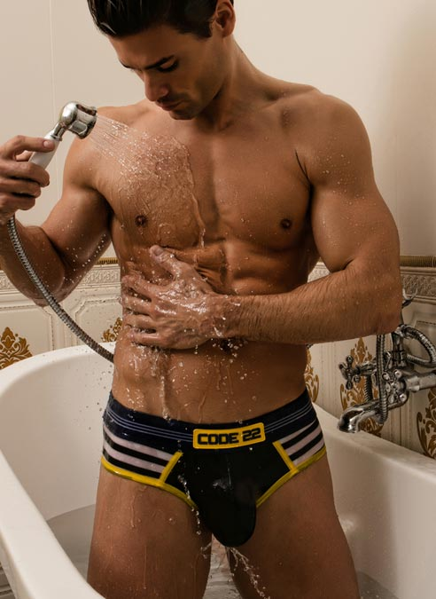 CODE 22 Brief Sailor Yellow Small