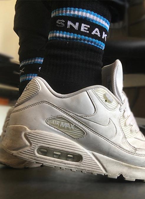 Sneakfreaxx Socks Black One Size
