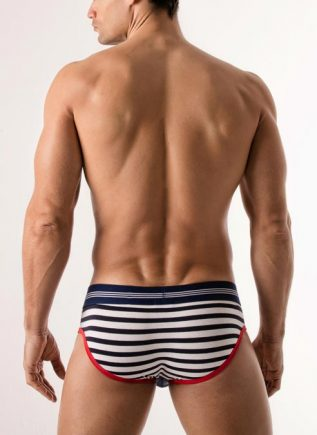 CODE 22 Brief Sailor Red Small