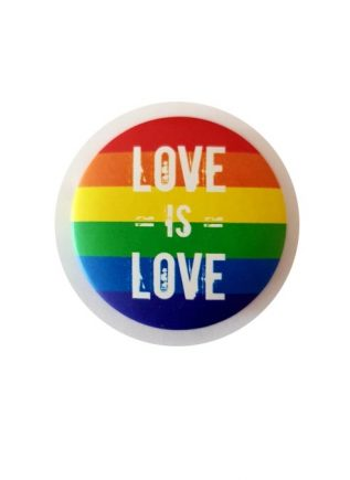 Button Rainbow Love is Love