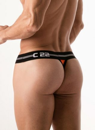 CODE 22 Thong City Lights Orange Small