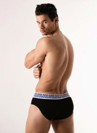 CODE 22 Brief Blue Rome Black Small