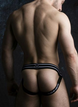 Locker Gear Jockstrap with Zipper White Small