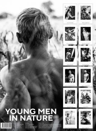 Calendar 2020 Young Men in Nature