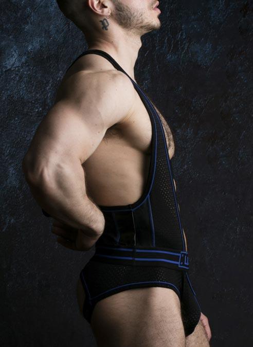 Locker Gear Backless Body Blue Large