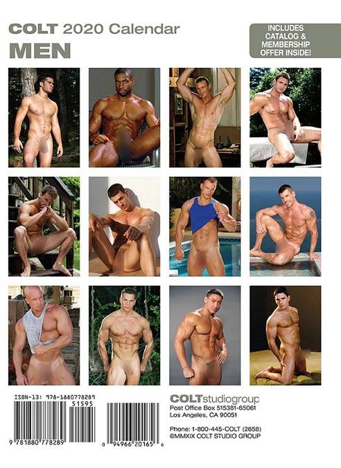 Calendar 2020 Colt Men