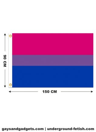 Flag Bisexual Pride Printed 90 x 150 cm