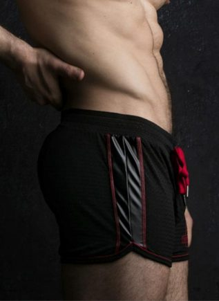 Locker Gear Bottomless Shorts Red Large
