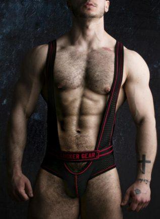 Locker Gear Backless Body Red Large