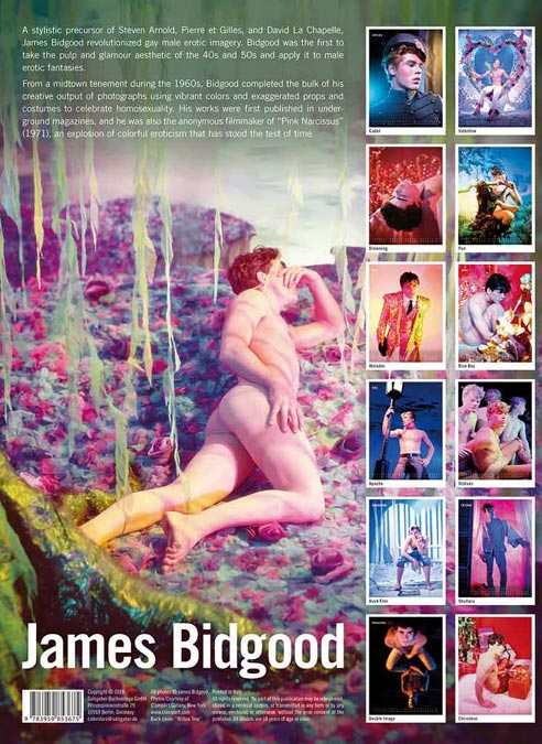 Calendar 2020 James Bidgood
