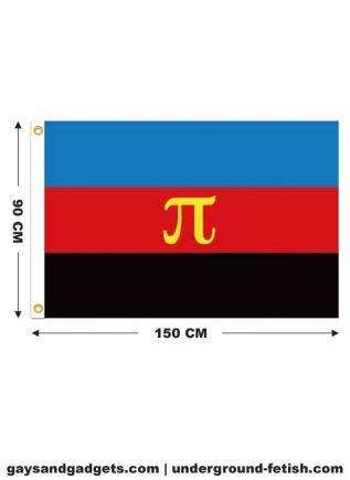 Flag Polyamory Pride Printed 90 x 150 cm