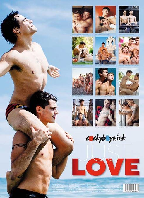 Calendar 2020 Cockyboys Just Love