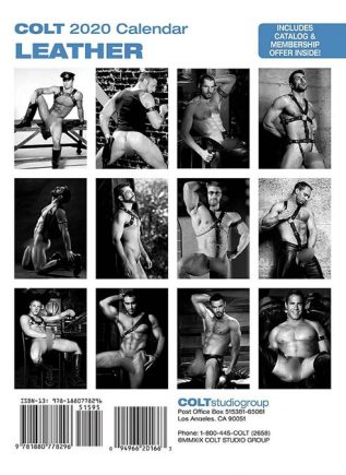 Calendar 2020 Colt Leather