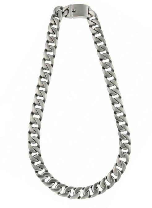 Bukovksy Chain Gourmette XXL Brushed - 66 x 1,5 x 0,6 cm