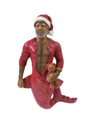 December Diamonds Merman Bedtime Santa