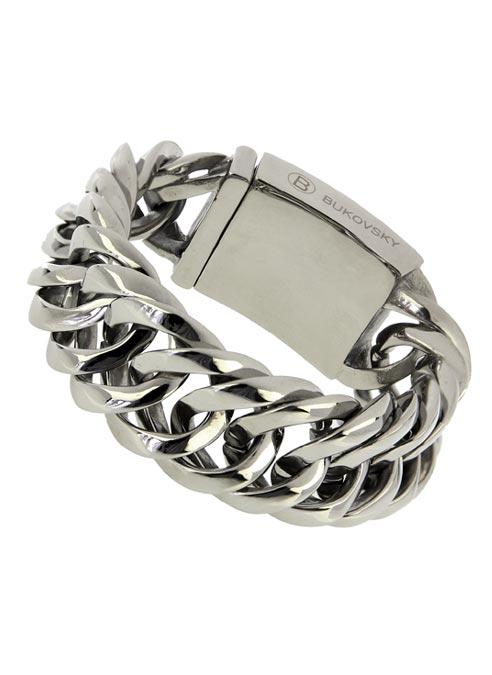 Bukovsky Bracelet Prestige Polished - 22 cm