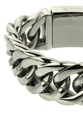 Bukovsky Bracelet Chase XL Polished - 21 cm
