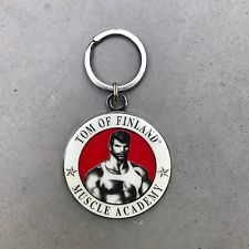 Tom of Finland Muscle Academy Keyring