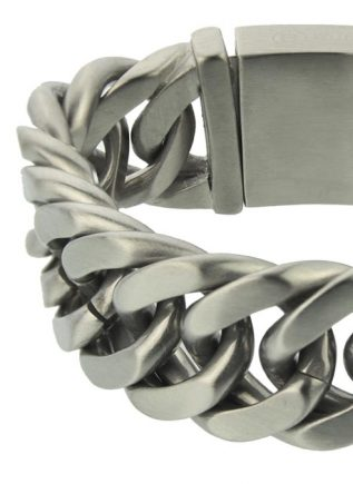 Bukovsky Bracelet Chase XL Brushed - 19 cm