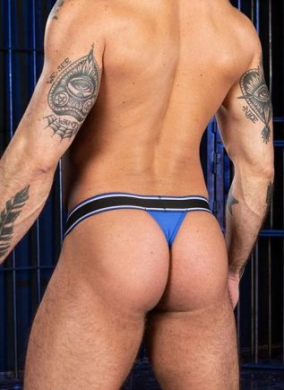 Mr. S Big Bulge Thong Blue Extra large