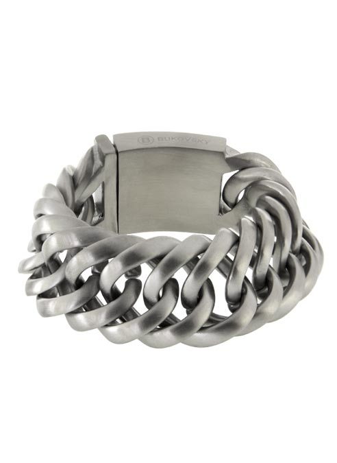 Bukovsky Bracelet Prestige XL Brushed- 19 cm