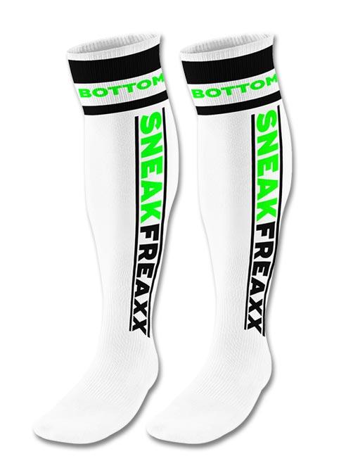 Sneakfreaxx Tube Socks Bottom Neon White One Size