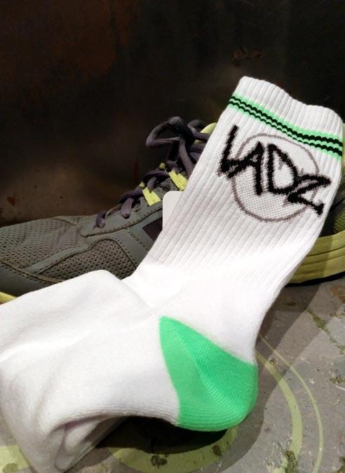 Sneakfreaxx Ladz Socks White One Size
