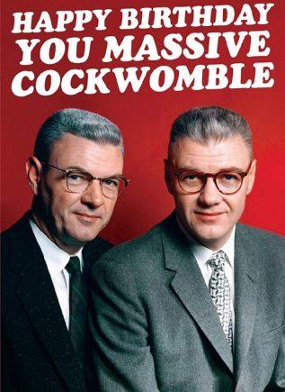 Dean Morris Card Cockwomble