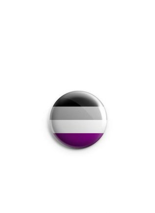Button Small Asexual Flag