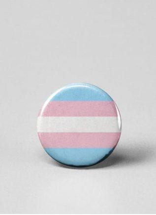Button Small Transgender Flag