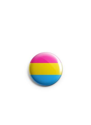 Button Small Pansexual Flag