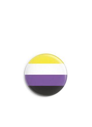 Button Small Non-Binary Flag