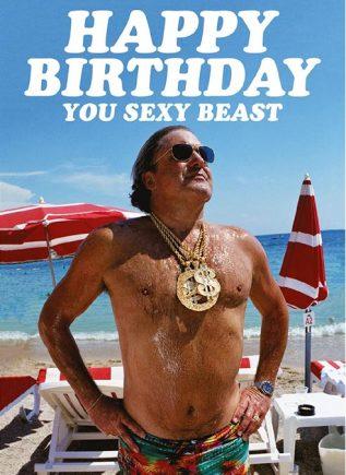 Dean Morris Card Happy Birthday Sexy Beast
