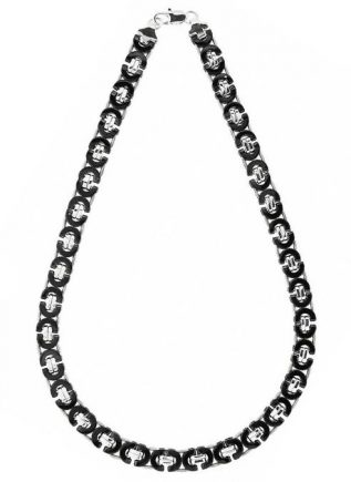 Bukovsky Chain Platte Koningsschakel Bi-color Polished - 56 x 1,1 x 0,4 cm
