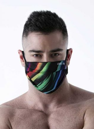 CODE 22 Facemask Stripes - 01