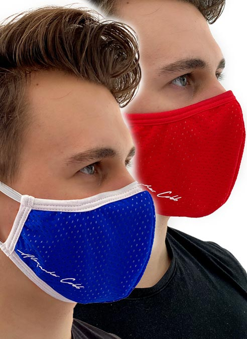 Alexander Cobb Shaped Facemask Mesh Black