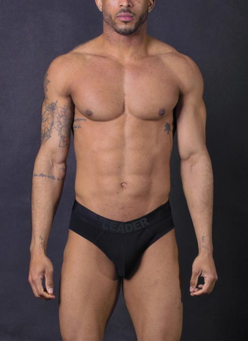 Leader Luxury Brief Black Small