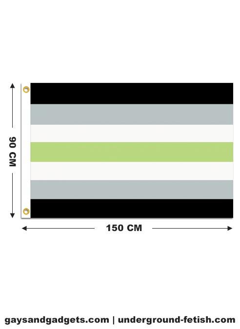 Flag Agender Pride Printed 90 x 150 cm