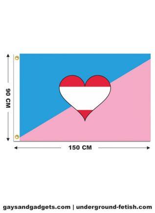 Flag Ageplay Pride Printed 90 x 150 cm