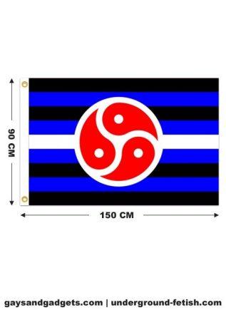 Flag BDSM Rights Printed 90 x 150 cm