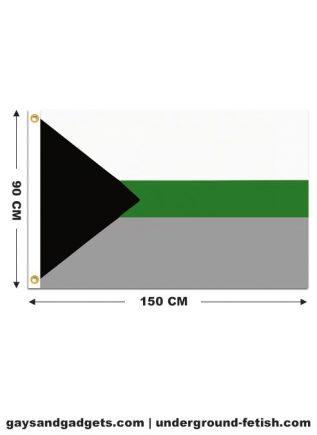 Flag Demiromantic Pride Printed 90 x 150 cm