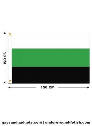 Flag Neutrois Pride Printed 90 x 150 cm