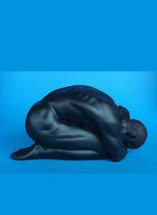 Parastone Statue Kneeling Black