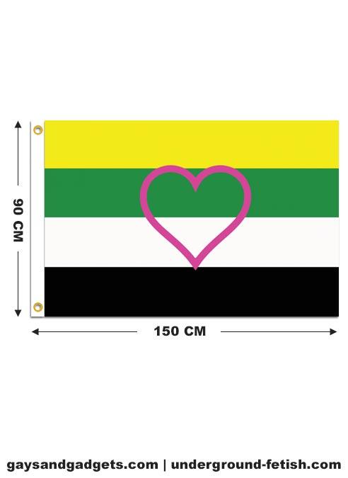 Flag Skoliosexual Pride Printed 90 x 150 cm