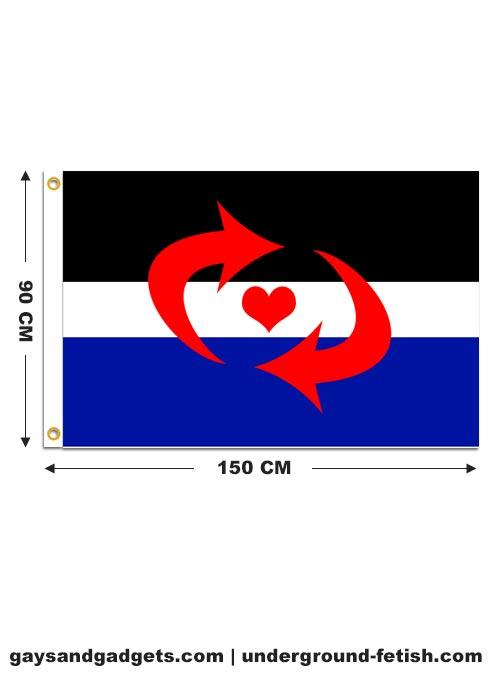 Flag Switch Pride Printed 90 x 150 cm