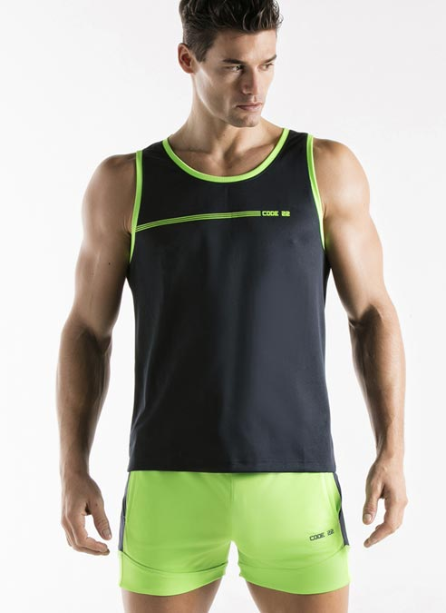 CODE 22 Active Tank Top Navy Extra Large