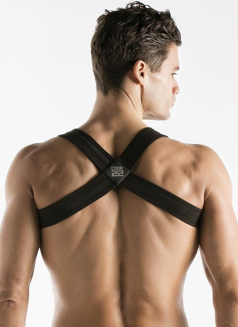 CODE 22 Sport Harness Black Extra Large