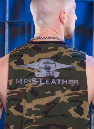 Mr. S Camo Butcher Tank Grey Small