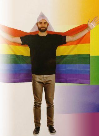 Rainbow Flag Cape